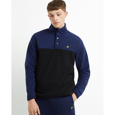 Lyle & Scott Microfleece Pullover - Navy