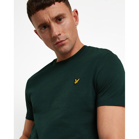 Lyle & Scott Plain T-Shirt - Jade Green