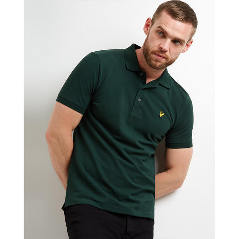 Lyle & Scott Polo Shirt - Jade Green
