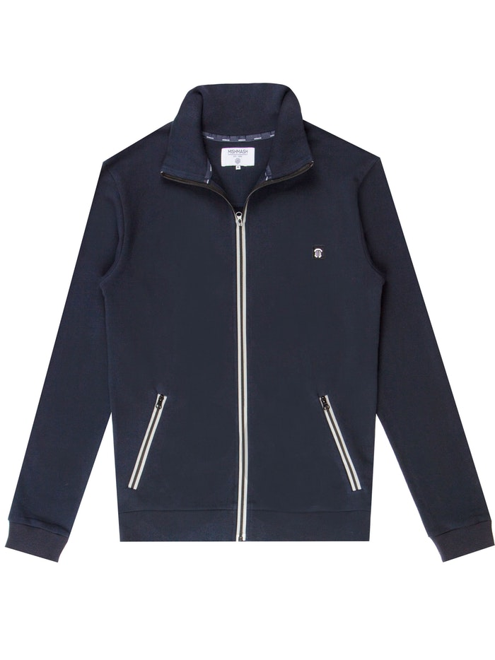 Mish Mash Hampton Funnel Neck Sweat - Navy