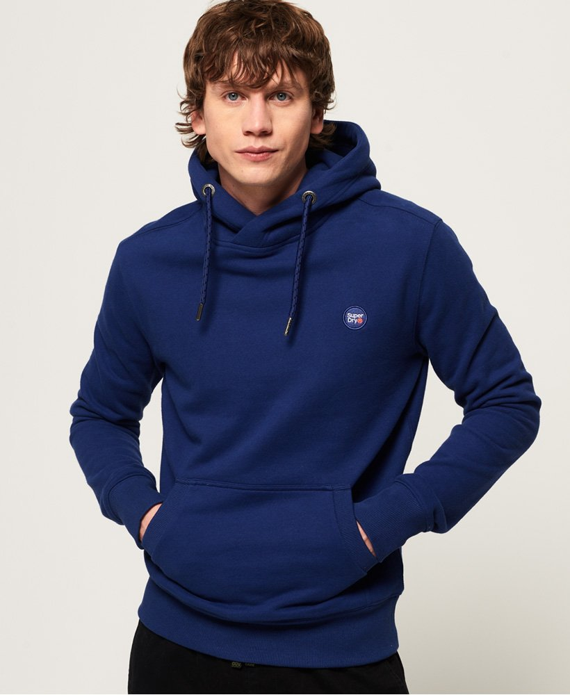 Superdry Collective Hood - Downhill Blue