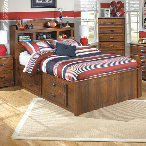 Ashley Barchan Double Bookcase Storage Bed