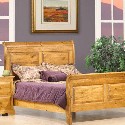 Vokes Thomas Solid Wood Queen Sleigh Bed