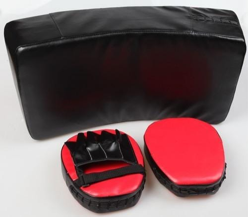 Thick Foam Padding Kicking Boxing Sparring Shield & Punching Pad Mitts Combo Punching Boxing Free Shipping Fitness At Home Australia Afterpay Zip