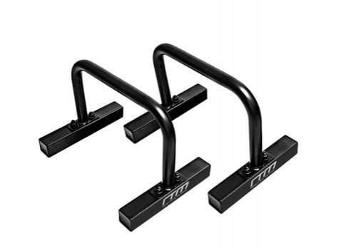 One Pair Black Steel Parallette Bars Push Up & Dip Workouts Free Shipping Fitness At Home Australia Afterpay Zip