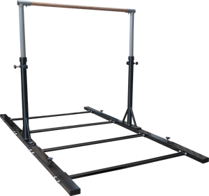 Stainless Steel Horizontal Bars For Pull And Chin Up Gymnastics