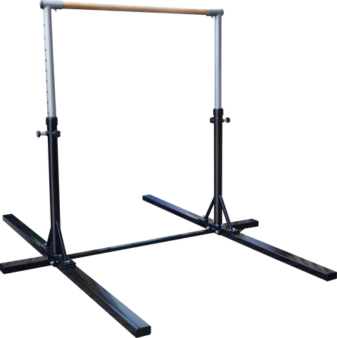 Image of Black Heavy-Duty Steel Horizontal Bars Pull And Chin Up For Gymnast Fitness At Home Australia Afterpay Zip