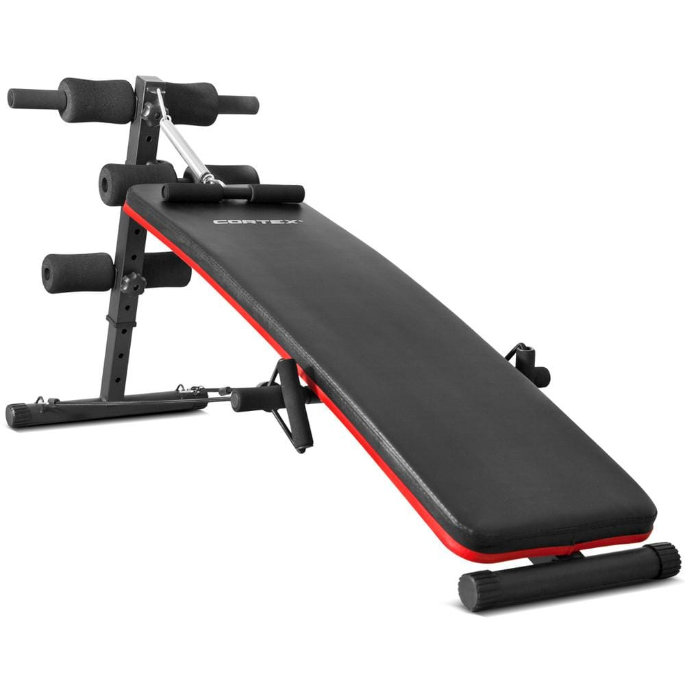 Ab10 Sit Up Steel Frame Bench By Cortex Fitness At Home