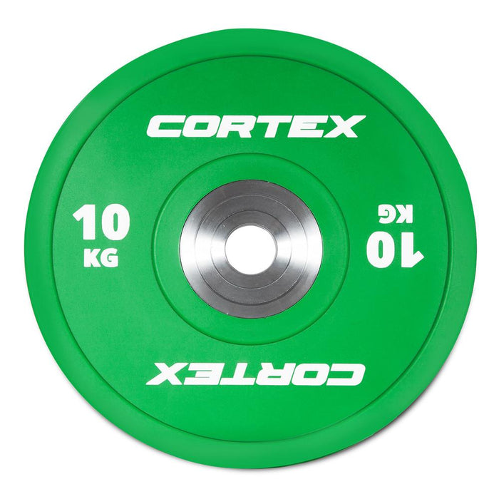 Cortex Competition 10kg Bumper Plate Afterpay Buy Now Australia Fitness at home