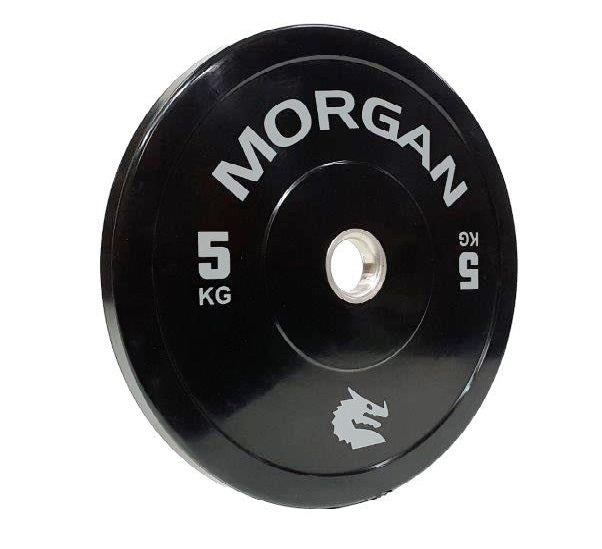 Olympic Bumper Plates 5KG (PAIR) By Morgan