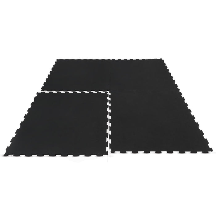 Interlocking Rubber Gym Floor Mat 15mm Set of 36