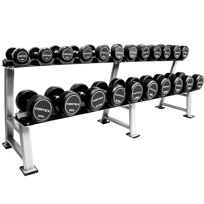 Cortex Pro-Fixed Dumbbells 5kg-30kg By Lifespan Fitness Afterpay Buy Now Australia Fitness at home