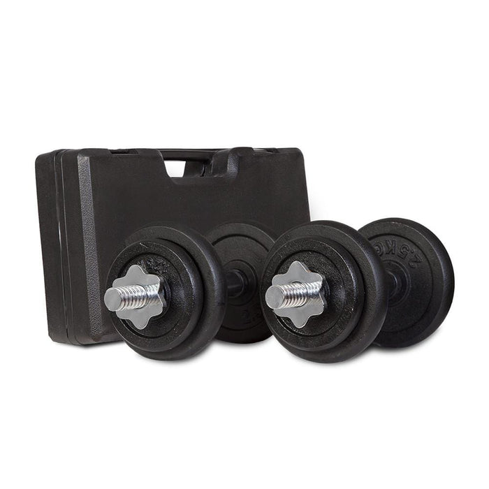 20kg Dumbbell Set with Case Afterpay Buy Now Australia Fitness at home
