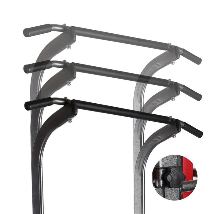Multi Station Pull Up Fitness Station For Complete Workout by Everfit Free Shipping Fitness At Home Australia Afterpay Zip