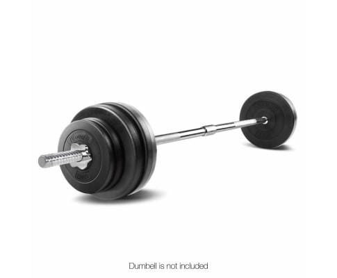 168CM Steel Weight Barbell with Spring Collars Afterpay Buy Now Australia Fitness at  home