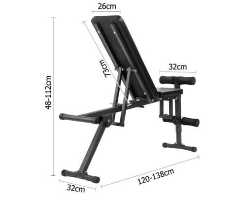 138CM Adjustable F.I.D Bench Afterpay Buy Now Australia Fitness at  home