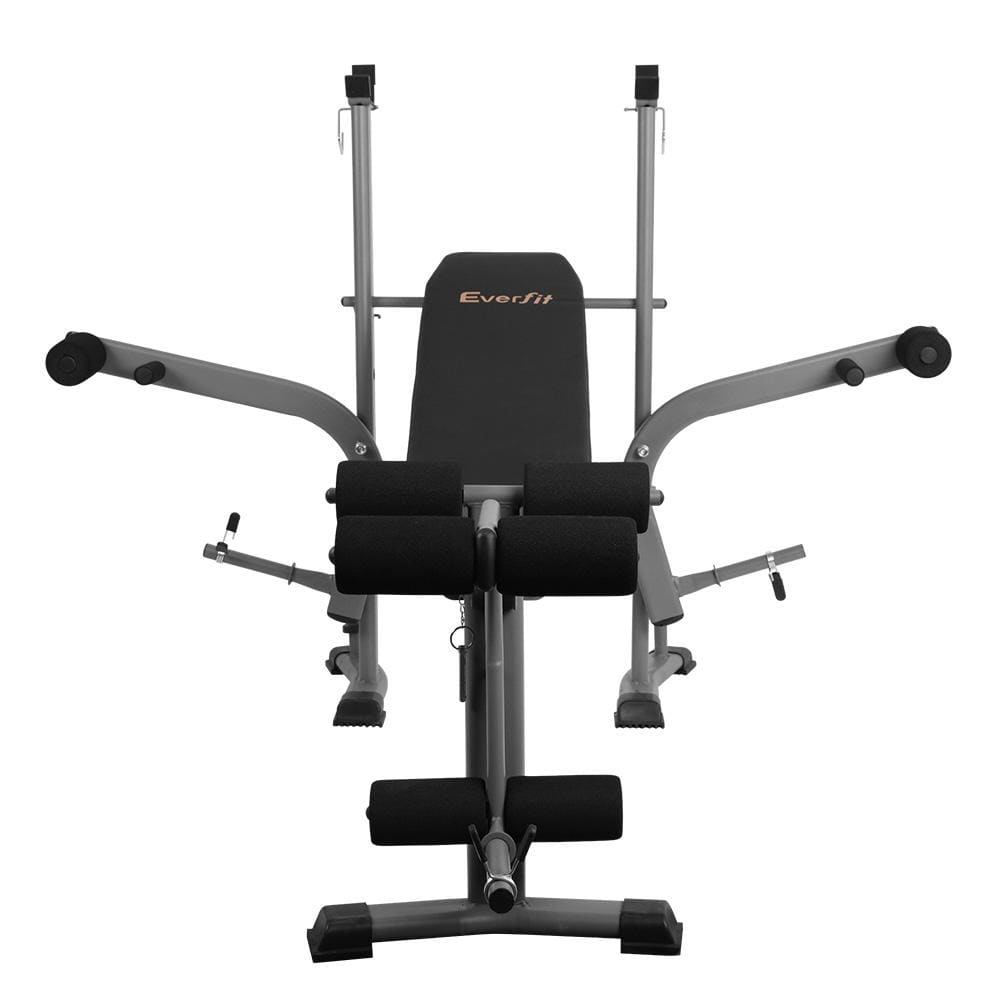 Weight Bench Press Equipment Fitness Incline Black Fitness