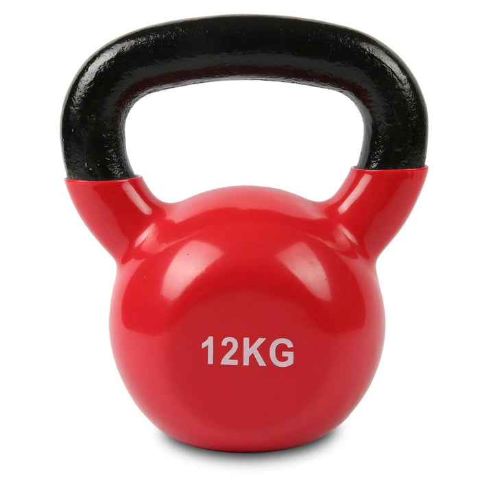 Kettlebell Set 4kg to 20kg Vinyl Afterpay Buy Now Australia Fitness at home