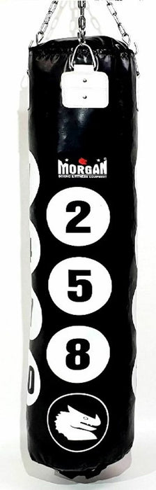 5FT Number Hanging Punch Bag (EMPTY OPTION AVAILABLE) By Morgan