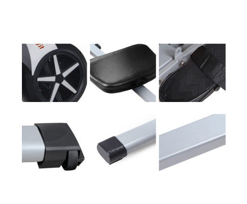 8 Level Rowing Exercise Machine Afterpay Buy Now Australia Fitness at  home