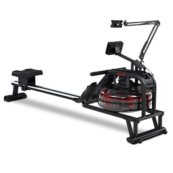 Everfit Rowing Exercise Machine Rower Water Resistance Fitness Gym Home Cardio
