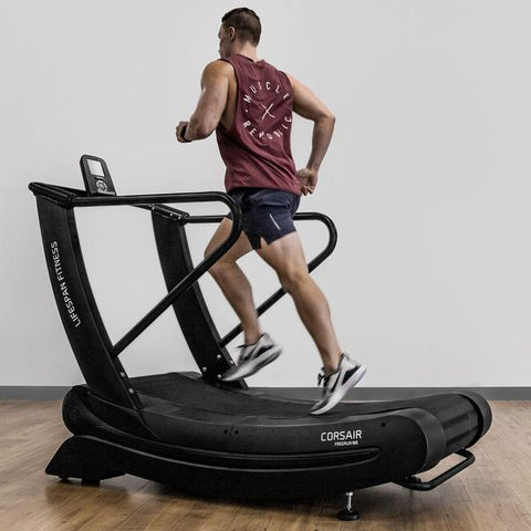 Corsair FreeRun 100 Curved Tubular Steel Treadmill Afterpay Online Store Buy Melbourne Sydney