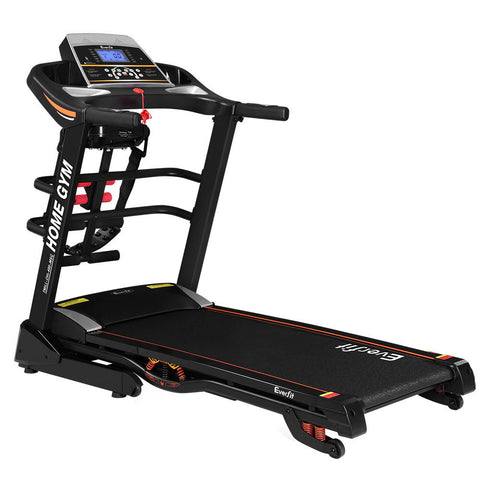 Compact 18 Speed Level Electric Treadmill Auto Incline Home Gym Exercise Running Machine Fitness Fitness At Home Afterpay Zip Online Store Buy Melbourne Sydney