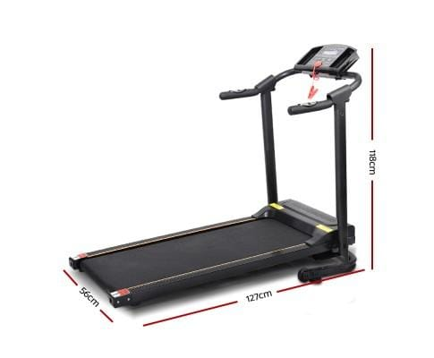 Electric Compact Treadmill For Exercise Fitness