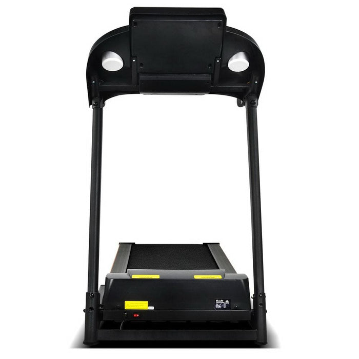 Black Electric Fold Up Treadmill For Home Gym Afterpay Zippay Fitness At Home Australia