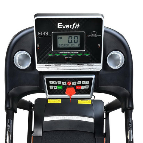Black Electric Fold Up Treadmill For Home Gym Afterpay