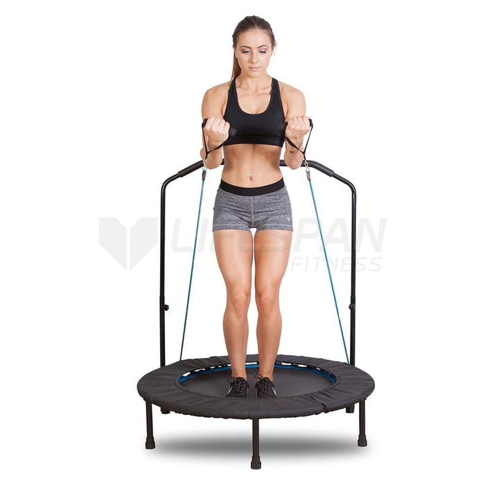 "Revo Bounce 2 40"" Mini Trampoline Afterpay Buy Now Australia Fitness at home"