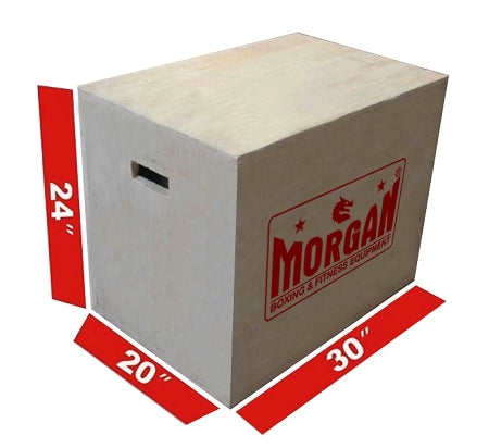 3 IN 1 Cross Functional Fitness Wooden Box By Morgan