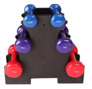Dummbell Set 6 Piece - Includes Rack  $55.00 AUD Fitness At Home Afterpay Zip