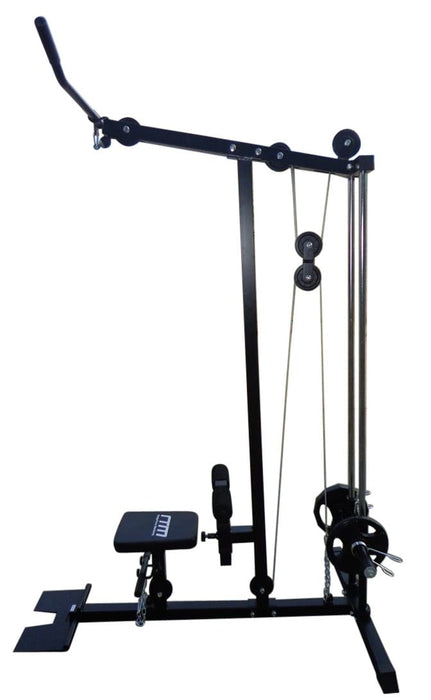 Lat Pull Down Low Row Fitness Machine $373.00 AUD Fitness At Home Afterpay Zip