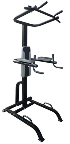 Image of Power Tower Chin Up Dip Pull Push Up Machine $420.95 AUD Fitness At Home Afterpay Zip