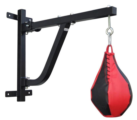 Boxing Punching Bag Wall Pivot Rack $105.00 AUD Fitness At Home Afterpay Zip