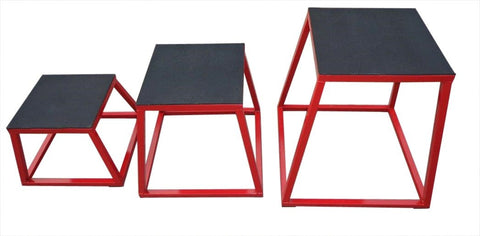 Plyometric Box Set of 3 Plyo Jump Boxes $349.00 AUD Fitness At Home AfterpayZip