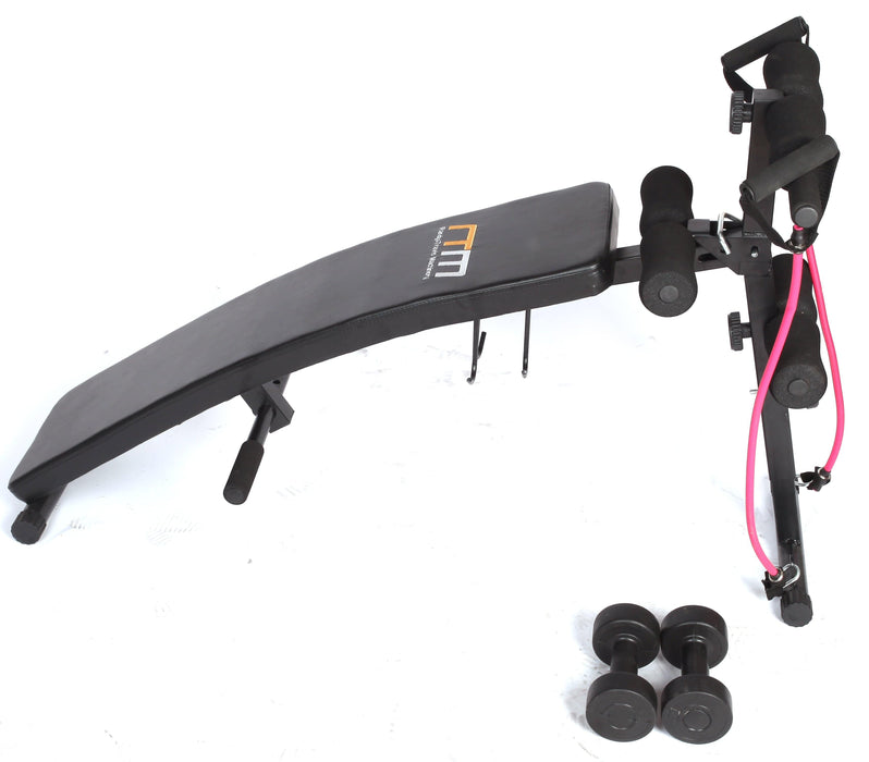 Foldable Incline Sit Up Bench $143.00 AUD Fitness At Home Afterpay Zip