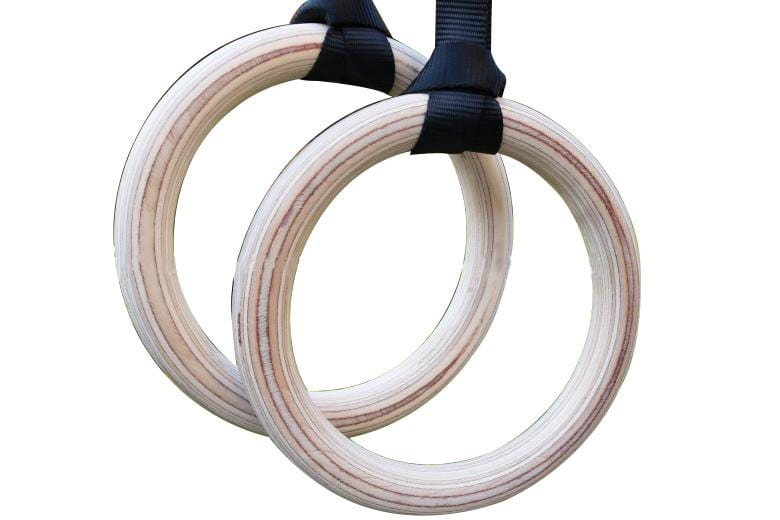 Birch Wood Gymnastic Rings Afterpay Buy Now Australia Fitness at  home