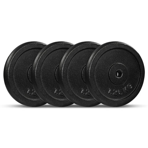 Image of Cast Iron Weight Plate 1.25kg x 4 Afterpay Buy Now Australia Fitness at home