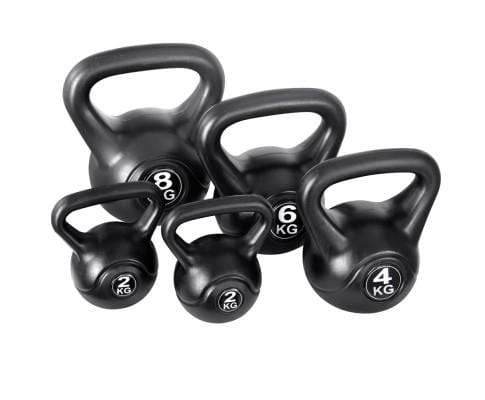 Set of 5 Kettle Bell Set Afterpay Buy Now Australia Fitness at  home