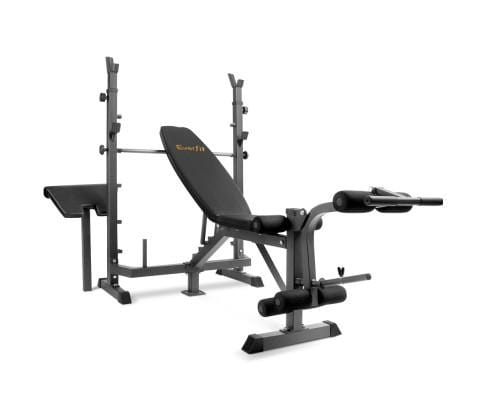 Multi-functional Fitness Bench - Black Afterpay Buy Now Australia Fitness at  home