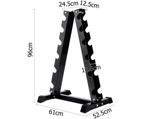 Vertical Dumbbell Storage Rack 6 Pairs Afterpay Buy Now Australia Fitness at  home