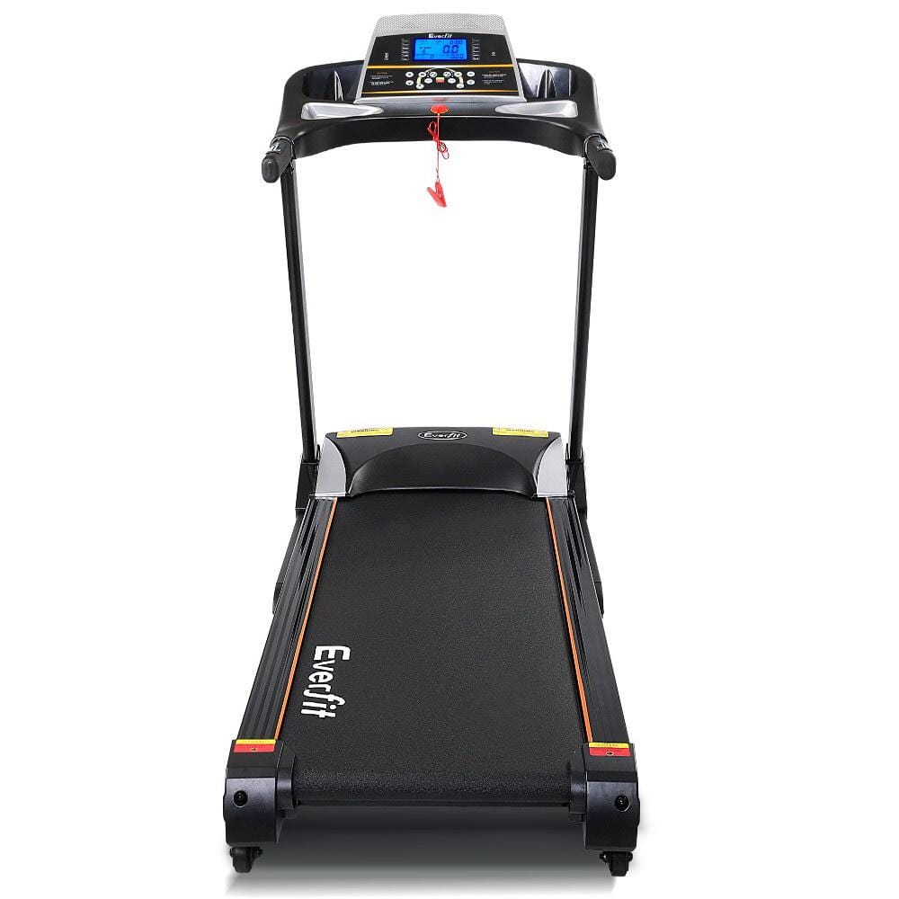Home Gym Electric Treadmill Black Fitness At Home