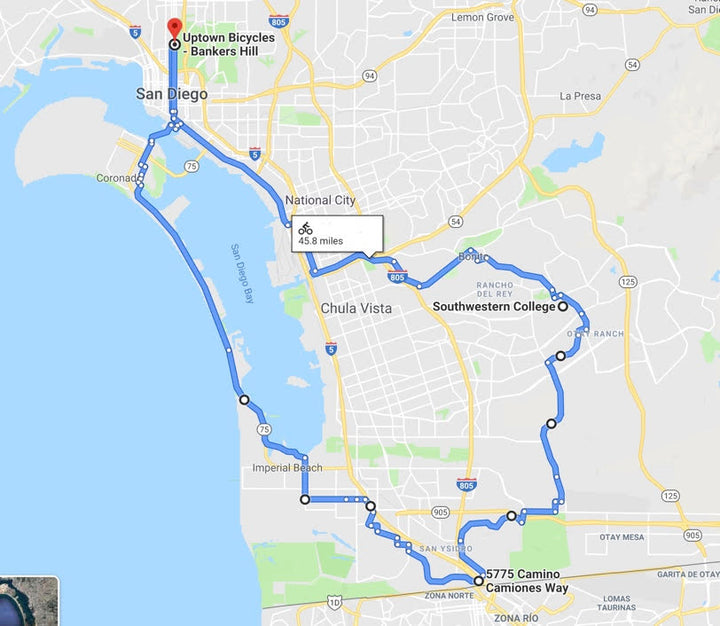 Uptown Bicycles Group Rides | San Diego, CA | Weekend of July 27th & 28th, 2019 - UPDATE