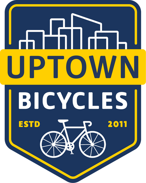Uptown Bicycles Badge Logo