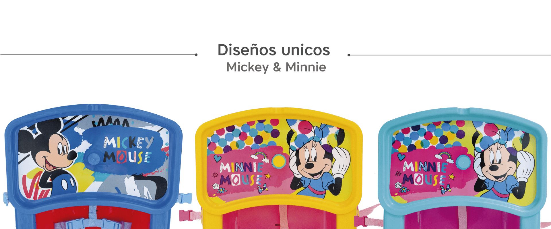 Booster de Comer Minnie y Mickey
