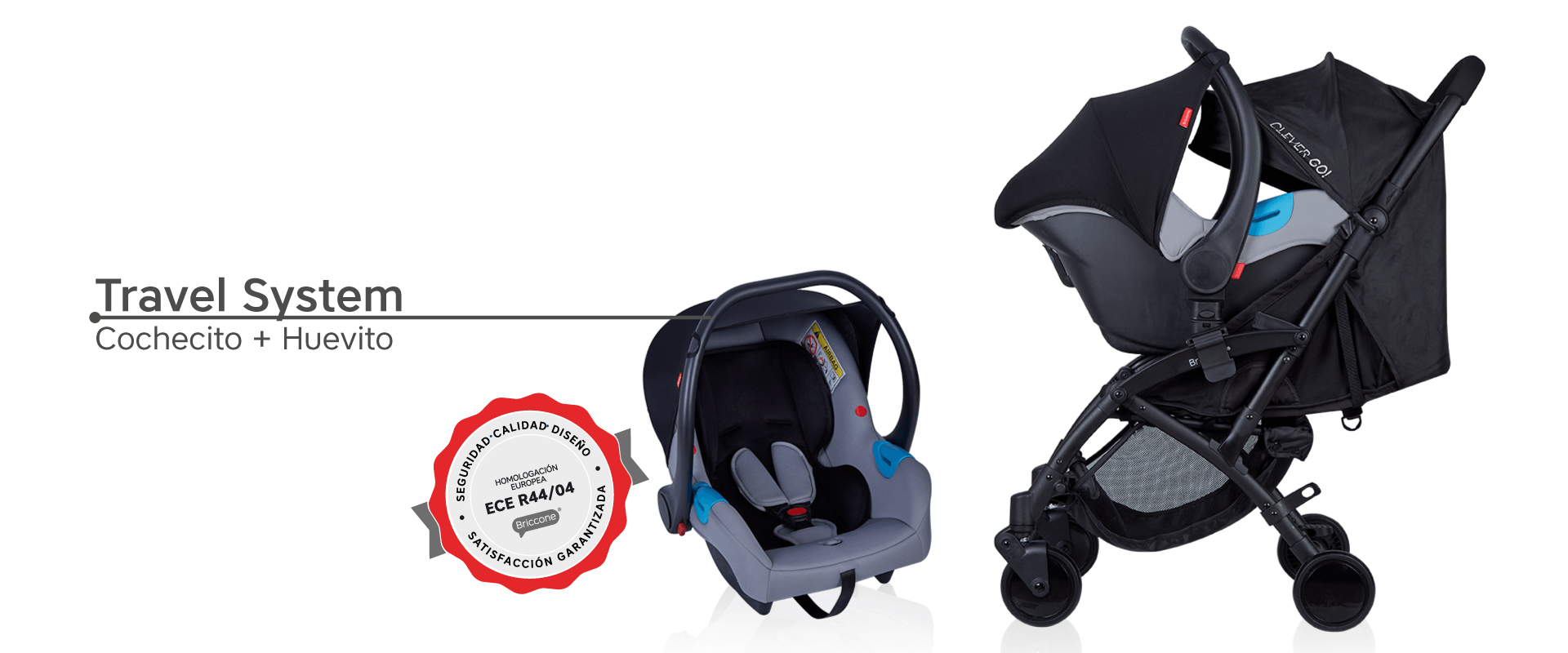 Travel System Clever Go!
