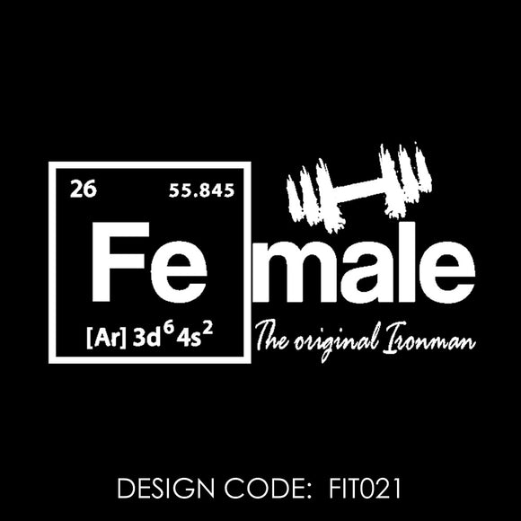 FEMALE THE ORIGINAL IRONMAN - FIT021