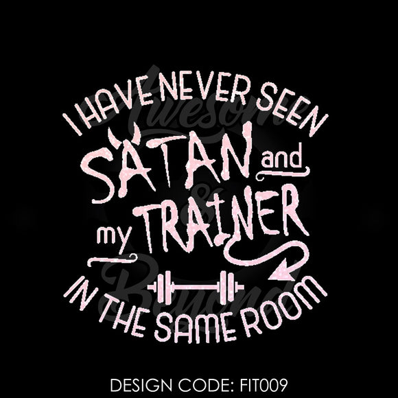 SATAN AND MY TRAINER - FIT009